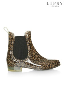 Spot On Leopard Chelsee Welly