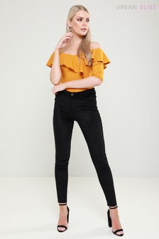 Urban Bliss Velvet Skinny Jeans