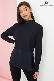 JDY Funnel Neck Top
