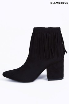 Glamorous Western Ankle Boots