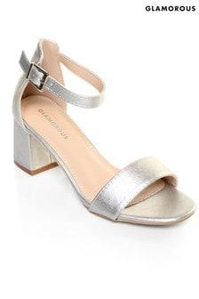 Glamorous Mid Heel Sandal