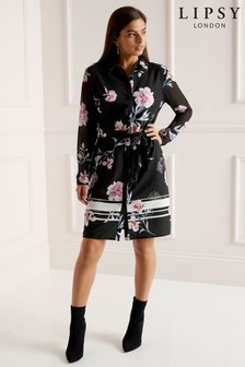 Lipsy Floral Shirt Dress