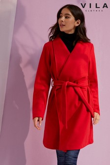 Vila Wrap Coat