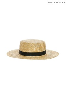 South Beach Large Straw Hat