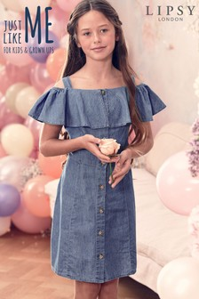Lipsy Girl Denim Dress