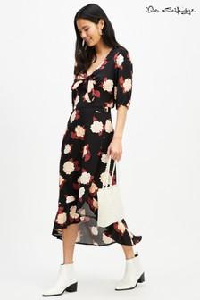 Miss Selfridge Frill Midi Skirt
