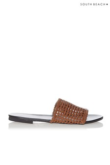 South Beach Woven Sandals