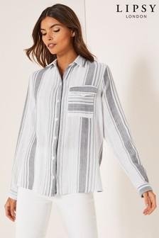 Lipsy Casual Stripe Shirt