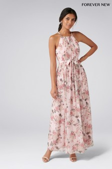 Forever New Printed Maxi Dress