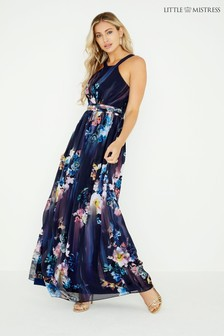 9827aea5d5e2f Little Mistress Floral Maxi Dress