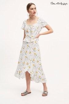 Miss Selfridge Floral Midi Skirt