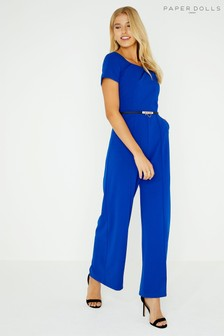 Paper Dolls Twisted Neck Jumpsuit