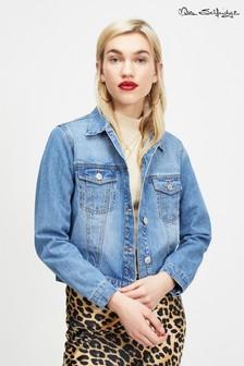 Miss Selfridge Mid Crop Denim Jacket