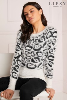 Lipsy Animal Eyelash Jumper