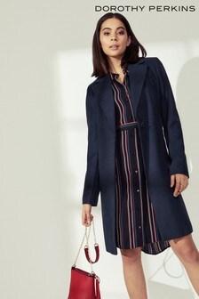 Dorothy Perkins Single Breasted Coat