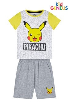 Kids Genius Pikachu Short Pyjama Set