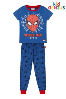 Kids Genius Long Leg Spiderman Pyjama Set