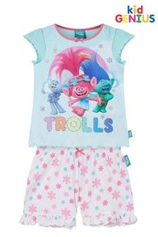 Kids Genius Trolls Shorts Pyjama Set