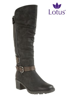 Lotus High Leg Boot