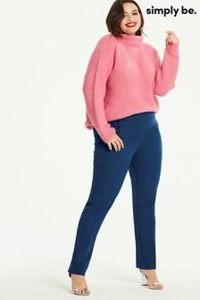 Simply Be Kate Regular Slim Leg Trousers