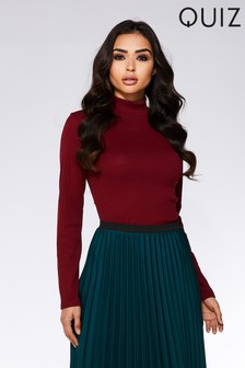 Quiz Turtle Neck Jumper