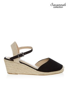 Savannah High Espadrille Wedges