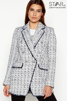 Star By Julien Macdonald Boucle Blazer