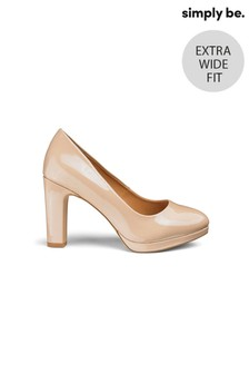 Simply Be Extra Wide Fit Court Shoes