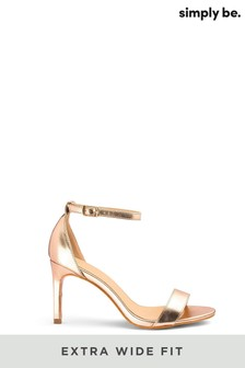 Simply Be Extra Wide Fit Barely There Sandals