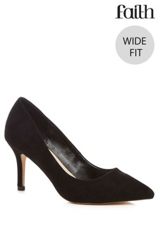 Faith Wide Fit Court Shoe