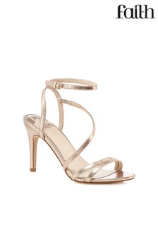 Faith Rose Heel Sandals