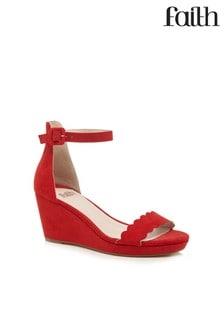 Faith Wedged Sandals