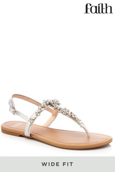 Faith Wide Fit Sandals