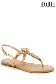 Faith Glitter Sandal