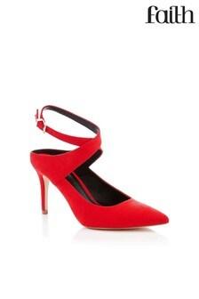 7954020d4c1 Faith Cross Pattern Court Shoes