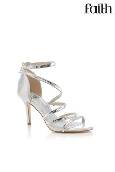 965c9d53b Faith Cross Strap Heeled Sandal