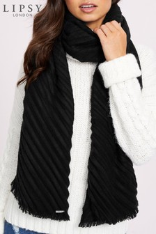 Lipsy Pleated Scarf