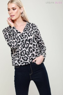 Urban Bliss Button Through Animal Print Shirt