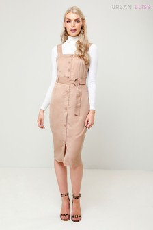 Urban Bliss Button Through Utility Dress