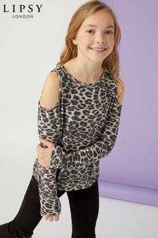 Lipsy Girl Leopard Jumper