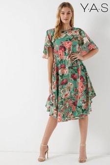 Sukienka z nadrukiem kwiatowym Y.A.S
