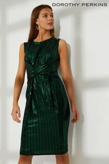 Dopasowana sukienka Dorothy Perkins z cekinami