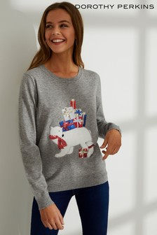 Dorothy Perkins Polar Bear Jumper
