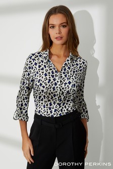 Dorothy Perkins Animal Print Shirt