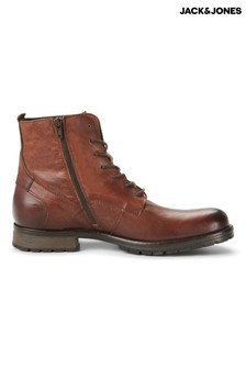 Jack & Jones Classic Tie Up Boots