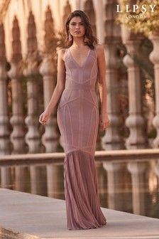 Lipsy Woven Tail Maxi Dress