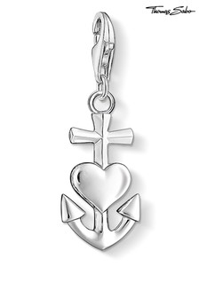 Thomas Sabo Cross Heart And Anchor Charm Pendant