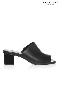 Selected Femme Leather Mule