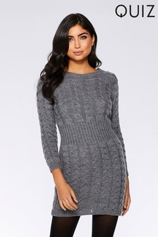 cb622e96e43 Quiz Knitted Jumper Dress