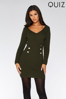 2f2a8bde0b Quiz Jumper Dress